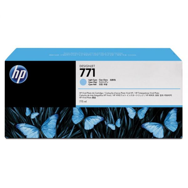 HP 771 Light Cyan Ink Cartridge (B6Y44A )