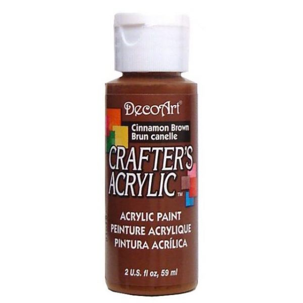 Deco Art Cinnamon Brown Crafter's Acrylic Paint