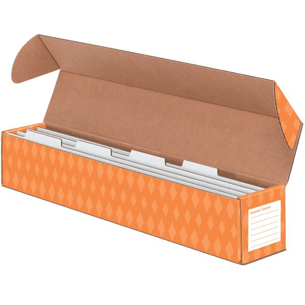 Bankers Box Sentence Strip Storage Box w/4 Dividers