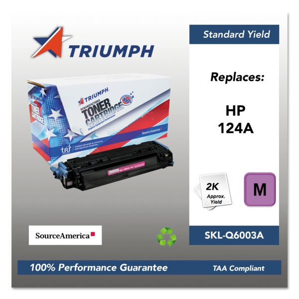 SKILCRAFT Remanufactured HP 124A Toner Cartridge