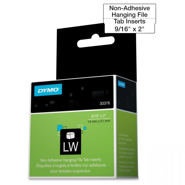 Dymo Hanging File Tab Inserts