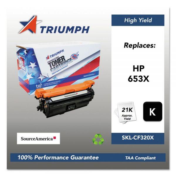 Triumph 751000NSH1603 Remanufactured CF320X (653X) High-Yield Toner, Black