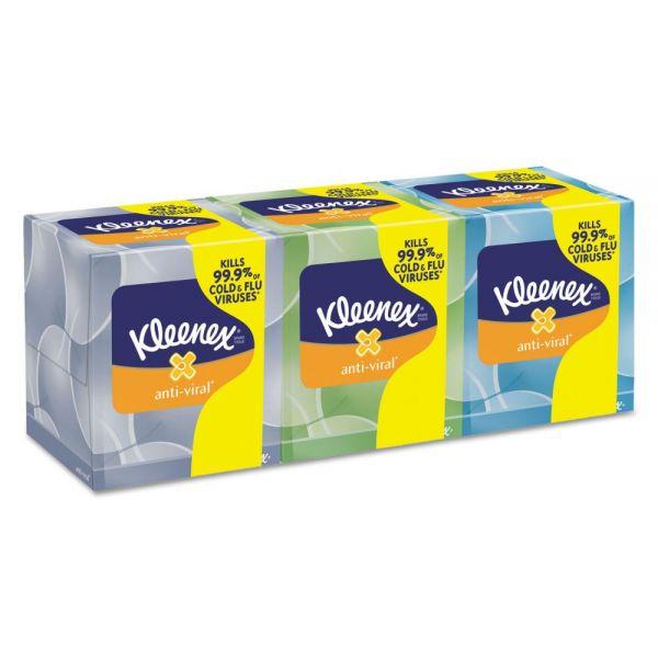 Kleenex Anti-Viral 3-Ply Facial Tissues