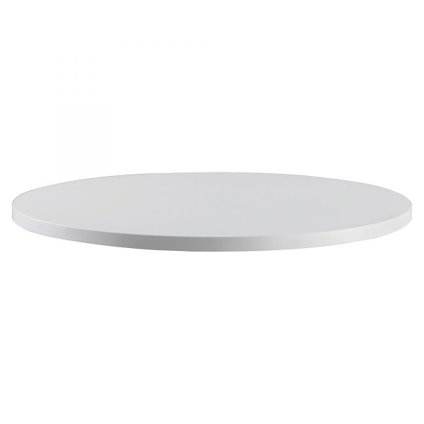 "Safco RSVP Series Round Table Top, Laminate, 30"" Diameter, Gray"