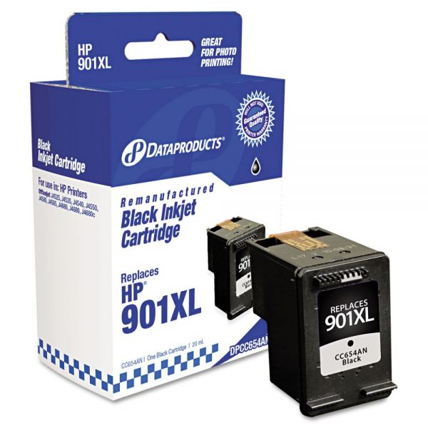 Dataproducts Remanufactured HP 901XL Black High Yield Ink Cartridge