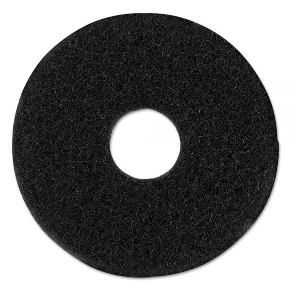 "Oreck Commercial Orbiter Aggressive Brush, 12"" Diameter, Black"