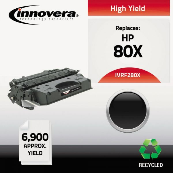 Innovera Remanufactured HP 280X High-Yield Toner Cartridge