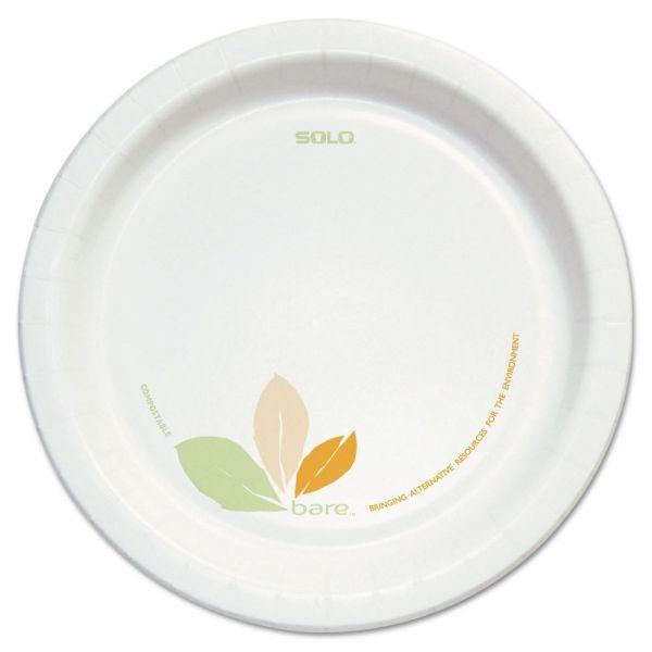 """SOLO Bare 8.5"""" Paper Plates"""