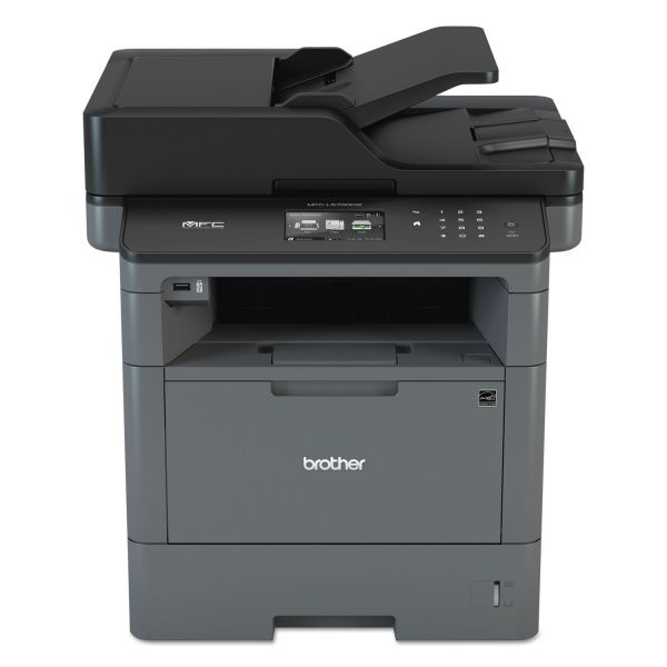 Brother MFC-L5700DW Laser Multifunction Printer - Monochrome - Plain Paper Print - Desktop