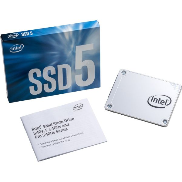 "Intel 540s 480 GB 2.5"" Internal Solid State Drive - SATA"