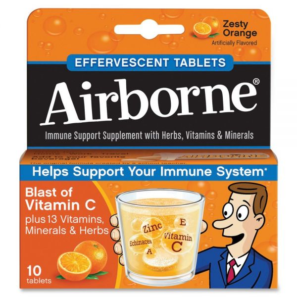 Advantus Airborne Flavored Effervescence Tablets
