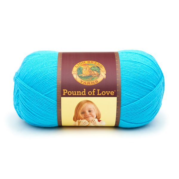 Lion Brand Pound Of Love Yarn - Turquoise
