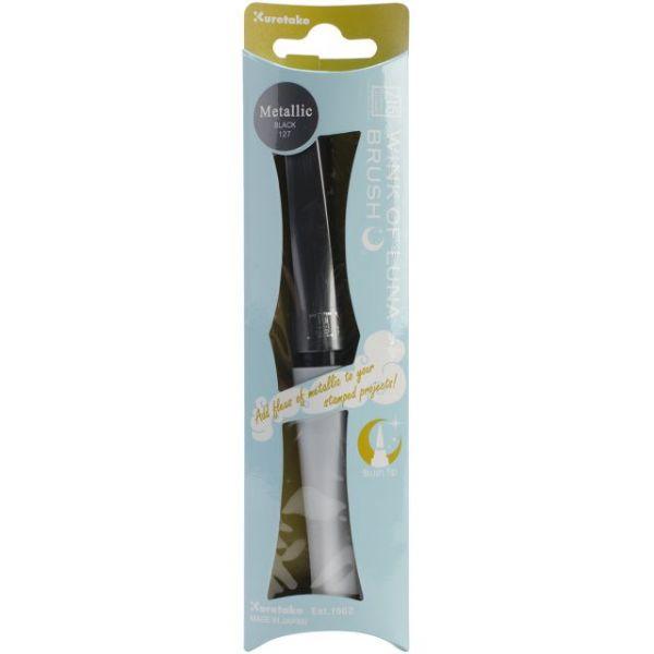 Zig Memory System Wink Of Luna Metallic Brush Pen (packaged)