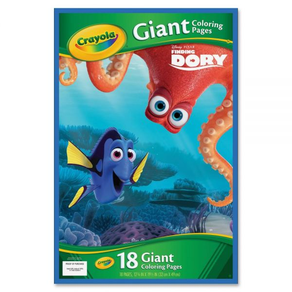 Crayola Disney Finding Dory Giant Coloring Pages