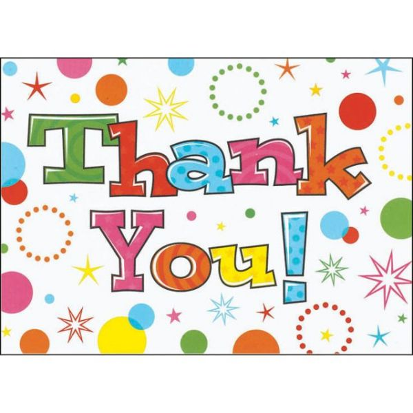 Thank You Cards & Envelopes 20/Pkg