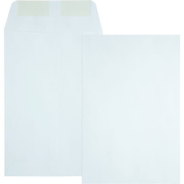 Quality Park Catalog Envelope, #55, 6 x 9, White, 500/Box