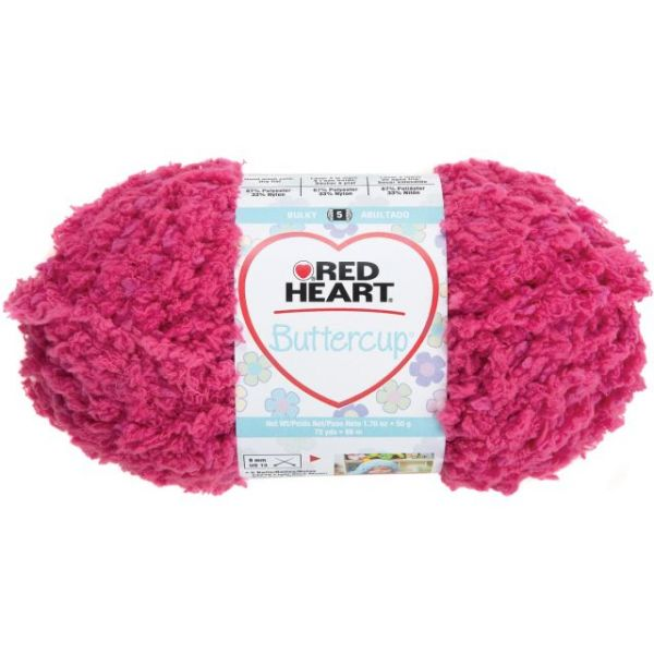Red Heart Buttercup Yarn - Flirty