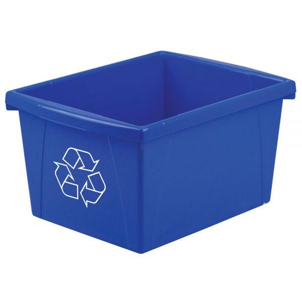 Storex 4 Gallon (15L) Recycle Bin