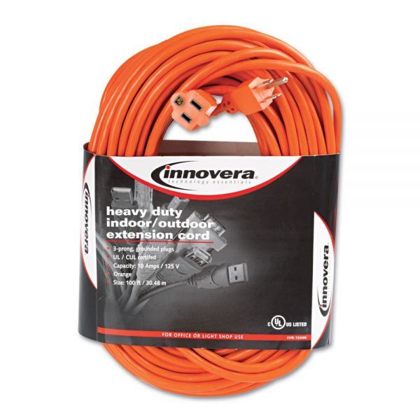 Innovera Indoor/Outdoor 100' Extension Cord