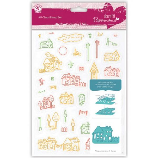Papermania A5 Clear Stamps