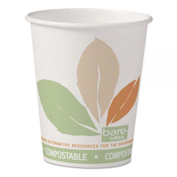 SOLO Cup Company Bare Eco-Forward PLA Paper Coffee Cups