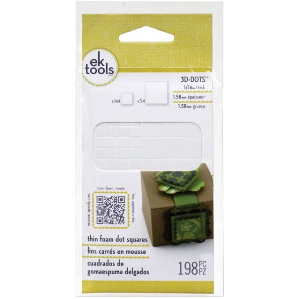 EK Tools 3D Dots Foam Dot Adhesive