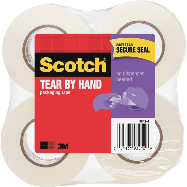 Scotch Tear-By-Hand Packing Tape