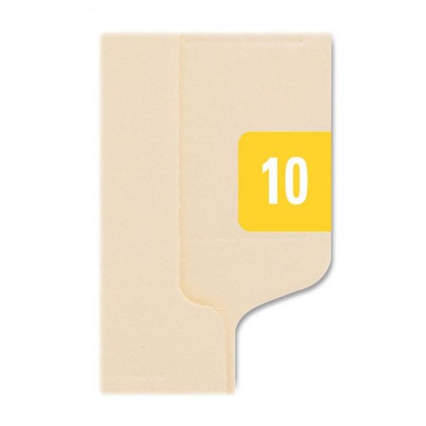 "Smead ETS ""2010"" Color Coded File Folder Labels"