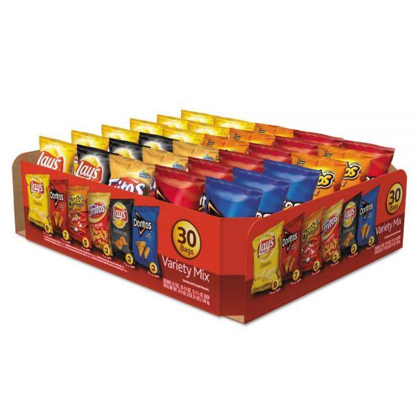 Frito-Lay Classic Variety Mix - 30 Individual Bags