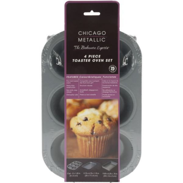 Chicago Metallic Toaster Oven Set