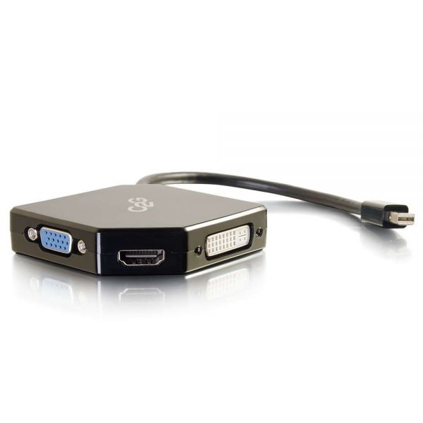 C2G Mini DisplayPort to HDMI, VGA, or DVI Adapter Converter