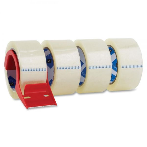 "Sparco Heavy Duty 2"" Packing Tape with Dispenser"