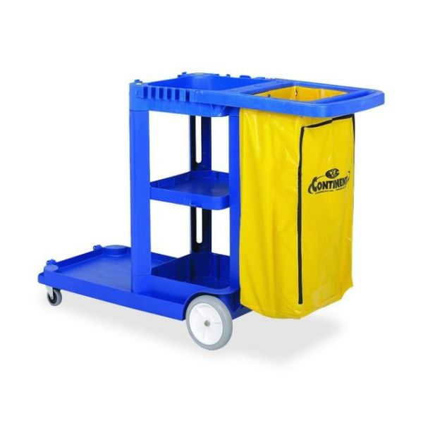 Continental Janitorial Cart
