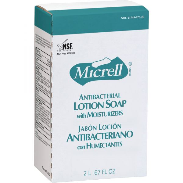 Micrell Antibacterial Lotion Hand Soap Refill
