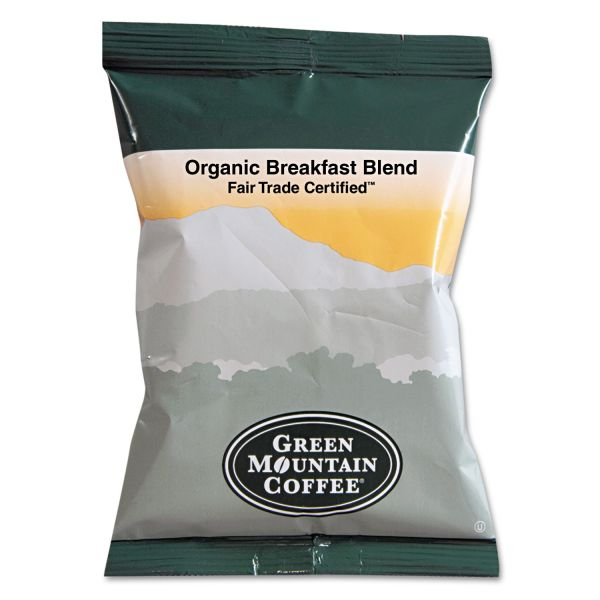 Green Mountain Coffee Roasters Fair Trade Organic Breakfast Blend Fraction Packs