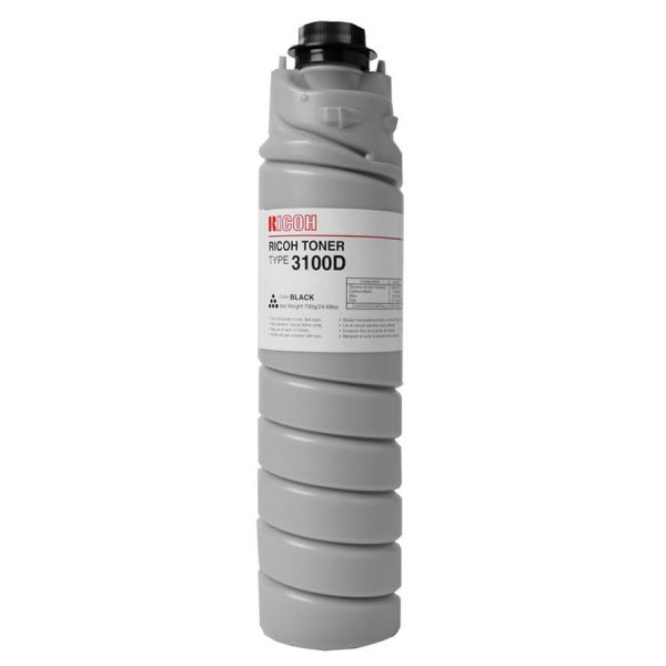 Ricoh Type 3100D Black Toner Bottle