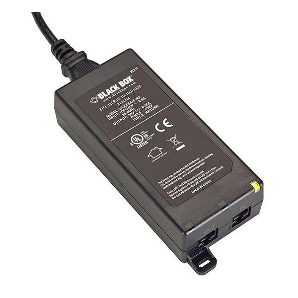 Black Box 802.3af 10/100/1000 PoE Injector