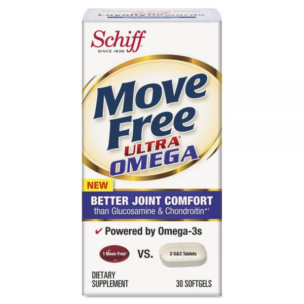 Move Free Ultra Omega Joint Comfort Softgels
