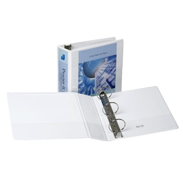 "Samsill Non-Stick 3"" 3-Ring View Binder"
