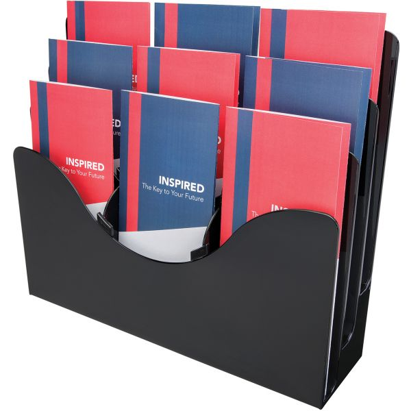 Deflect-o Three-Tier Document Organizer with Dividers