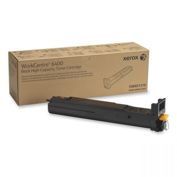 Xerox 106R01316 Black High Yield Toner Cartridge