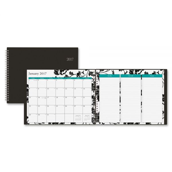Blue Sky Barcelona Horizontal Weekly/Monthly Planner