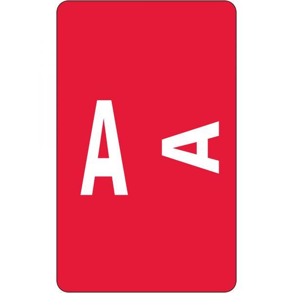 Smead AlphaZ ACCS Color-Coded Alphabetic Label - A