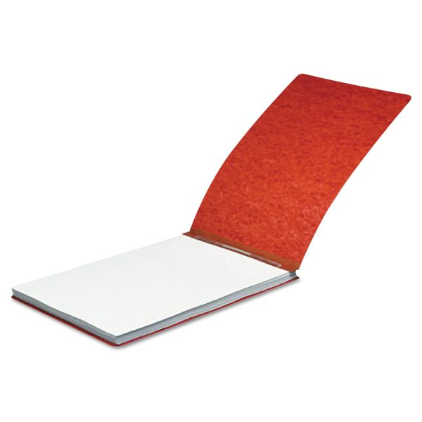 """ACCO Pressboard Report Cover, Spring Clip, Letter, 2"""" Capacity, Earth Red"""