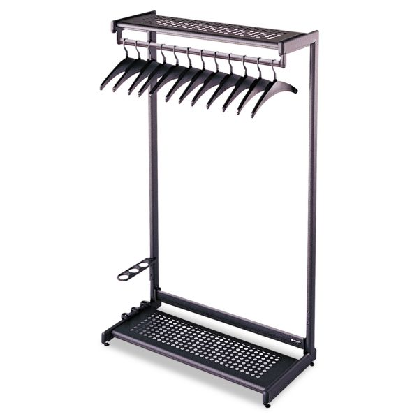 Quartet Two-Shelf Garment Rack