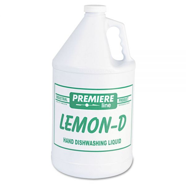 Premiere Lemon-D Liquid Dish Soap