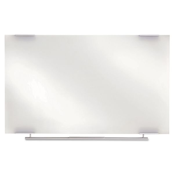 Iceberg Clarity Glass Dry Erase Boards, Frameless, 48 x 36