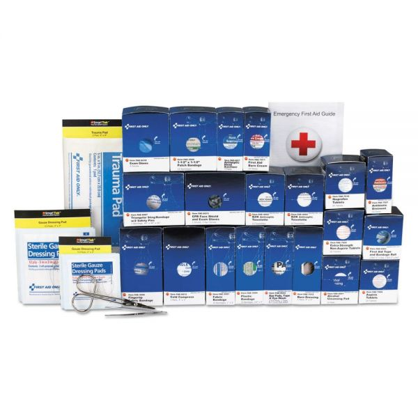 First Aid Only 50 Person ANSI Class A+ First Aid Kit Refill, 241 Pieces