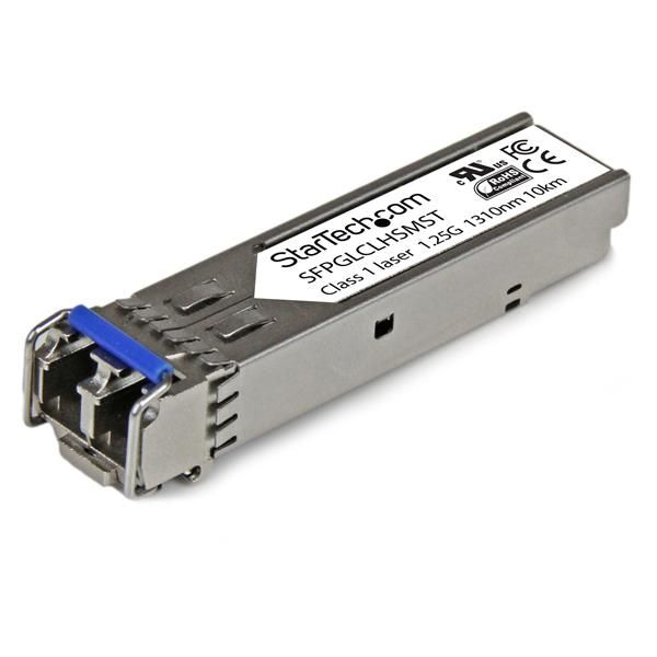 StarTech.com Cisco Compatible Gigabit Fiber SFP Module SM/MM LC - 10km