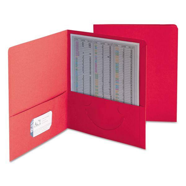 Smead Heavyweight Two Pocket Folders